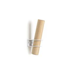 Torch hooks, white | Single hooks | EMKO