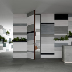 Alba | Infinito 10 Hinged Door | Internal doors | Linvisibile