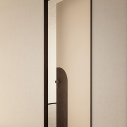Alba | Infinito Hinged Door | Designed by Fabio Fantolino | Internal doors | Linvisibile