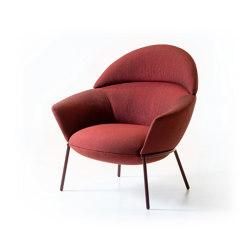 Swale high armchair | Sillones | La Cividina