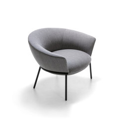 Swale low armchair | Armchairs | La Cividina