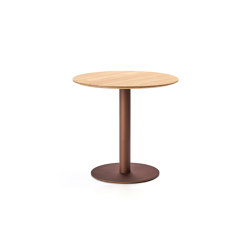 Flamingo indoor Dining table stand with round top   Dining tables   Expormim