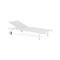 Up Chaise longue with wheels | Sun loungers | Expormim