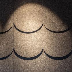 Grape TILES acoustic wall decorations | Systèmes muraux absorption acoustique | Grape