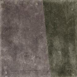 Clash pure grey & icey mint | Formatteppiche | kymo