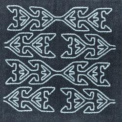 Kelim Motifs Tree of Life night frost | Formatteppiche | kymo