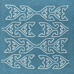 Kelim Motifs Tree of Life aqua | Rugs | kymo