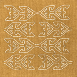 Kelim Motifs Tree of Life mustard | Rugs | kymo