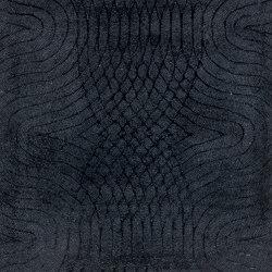 New Wave black ink | Rugs | kymo