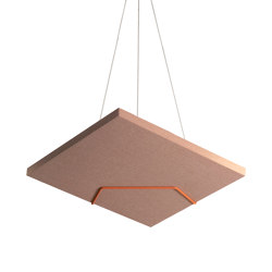 Decibel | Clamp Ceiling | Sound absorbing suspended panels | Johanson Design