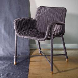Rain Dining Chair - rope/aluminium   Sedie   MARY&