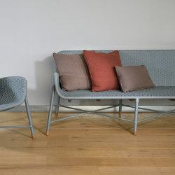 Rain Lounge Sofa - rope/aluminium | Divani | MARY&