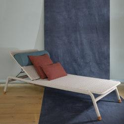 Rain Sunlounger - rope/aluminium | Sun loungers | MARY&