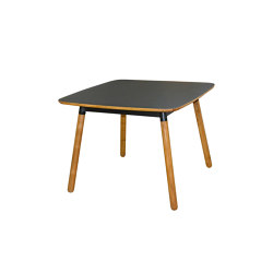 mary's design mood | Boomerang Dining Table - teak/formica | Dining tables | MARY&