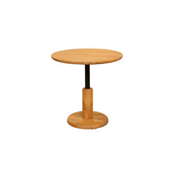 mary's design mood | Avani Dining Table round - teak | Bistro tables | MARY&