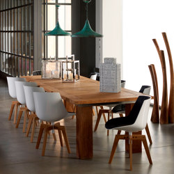 mary's design mood | Gyalo Dining Table - teak | Dining tables | MARY&