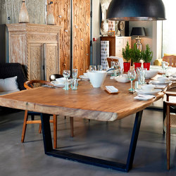 mary's design mood | Ypsilon Dining Table - iron base | Mesas comedor | MARY&