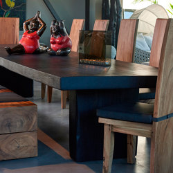 mary's design mood | Dining Table black - suar | Dining tables | MARY&