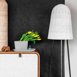 mary's light mood | Bell Floor Lamp - danish cord | Standleuchten | MARY&