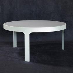 mary's design mood | Las Vegas Dining Table - marble/alluminium | Dining tables | MARY&