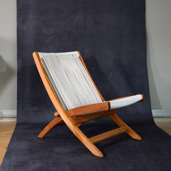 mary's design mood | Ypatia Folding Chair - pvc/teak | Sessel | MARY&