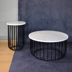 mary's design mood | Creta Side Table - marble/iron | Coffee tables | MARY&