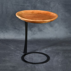 mary's design mood | Sandwich Side Table - teak/iron | Tables d'appoint | MARY&