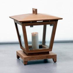 mary's objects mood | Classic Candle Holder - teak | Lanterns | MARY&