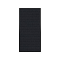 Opus 2, Black Frame | Sound absorbing wall objects | DESIGN EDITIONS