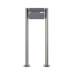 Basic | 1er Briefkastenanlage freistehend Design BASIC 385220 7016 ST-R - RAL 7016 anthrazitgrau | Mailboxes | Briefkasten Manufaktur