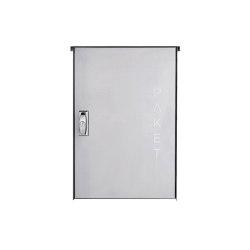 Basic | Edelstahl Aufputz Paketkasten BASIC 863 AP - Paketfach 550x370 | Mailboxes | Briefkasten Manufaktur