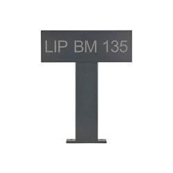 Basic | Parkschild - Parkplatzkennzeichen freistehend 500 BASIC 391 - RAL nach Wahl | Symbols / Signs | Briefkasten Manufaktur