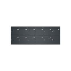 Basic | Unterputz Briefkastenanlage BASIC 534 UP pulverbeschichtet - 11 Parteien | Mailboxes | Briefkasten Manufaktur