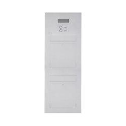 Designer | 2er Edelstahl Briefkasten Designer Modell BIG - Clean Edition - INDIVIDUELL Einputz- bzw. Unterputzvariante 100mm | Mailboxes | Briefkasten Manufaktur