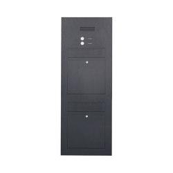 Designer | 2er Edelstahl Briefkasten Designer Modell BIG - Clean Edition - RAL nach Wahl - INDIVIDUELL Einputz- bzw. Unterputzvariante 100mm | Mailboxes | Briefkasten Manufaktur