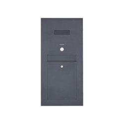Designer | Edelstahl Briefkasten Designer Modell - Clean Edition - RAL nach Wahl - INDIVIDUELL Einputz- bzw. Unterputzvariante 100mm | Mailboxes | Briefkasten Manufaktur