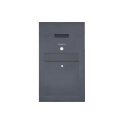 Designer | Edelstahl Briefkasten Designer Modell BIG - Clean Edition - RAL nach Wahl - INDIVIDUELL Einputz- bzw. Unterputzvariante 100mm | Mailboxes | Briefkasten Manufaktur