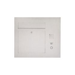 Designer | Edelstahl Briefkasten Designer Modell BIG - Clean Edition - Seitlich - INDIVIDUELL Einputz- bzw. Unterputzvariante 100mm Rechts | Mailboxes | Briefkasten Manufaktur
