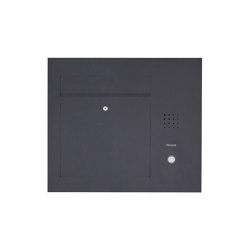 Designer | Edelstahl Briefkasten Designer Modell BIG - Clean Edition - Seitlich - RAL nach Wahl - INDIVIDUELL Einputz- bzw. Unterputzvariante 100mm Rechts | Mailboxes | Briefkasten Manufaktur