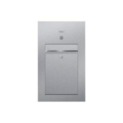 Designer | Edelstahl Briefkasten Designer Modell SMALL - Clean Edition - INDIVIDUELL Einputz- bzw. Unterputzvariante 100mm | Mailboxes | Briefkasten Manufaktur