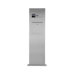 Designer | Edelstahl Briefkastensäule Designer BIG - GIRA System 106 - Video- Sprechanlage - VIDEO Komplettset | Mailboxes | Briefkasten Manufaktur