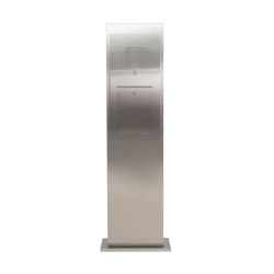 Designer | Edelstahl Briefkastensäule Designer Modell - Stele Tower - INDIVIDUELL | Mailboxes | Briefkasten Manufaktur