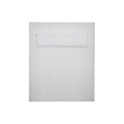 Designer | Edelstahl Design Zaunbriefkasten DESIGNER Style BIG - Entnahme hinten | Mailboxes | Briefkasten Manufaktur