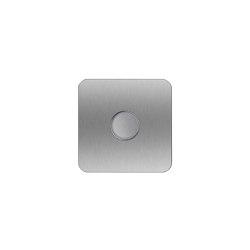 Designer | Edelstahl Klingelplatte Designer LED - QUAD 100 | Door bells | Briefkasten Manufaktur