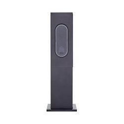 Designer | Edelstahl Ladesäule DESIGNER mit Innogy eBox 3.0 smart 22kW Typ 2 - RAL nach Wahl | Sockets | Briefkasten Manufaktur