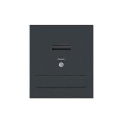 Designer | Edelstahl Mauerdurchwurf Briefkasten Designer Modell - Clean Edition - RAL nach Wahl - INDIVIDUELL | Mailboxes | Briefkasten Manufaktur