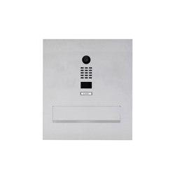 Designer | Edelstahl Mauerdurchwurf Briefkasten Designer Modell BIG mit DoorBird Video- Sprechanlage | Mailboxes | Briefkasten Manufaktur