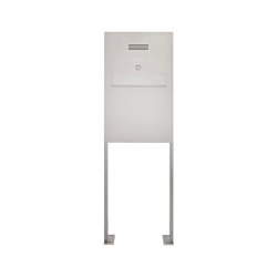 Designer | Edelstahl Standbriefkasten - Zaunbriefkasten Designer Modell BIG ST-P - Clean Edition - INDIVIDUELL | Mailboxes | Briefkasten Manufaktur
