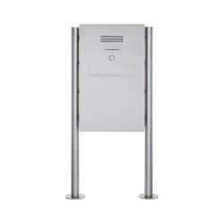 Designer | Edelstahl Standbriefkasten - Zaunbriefkasten Designer Modell BIG ST-R - Clean Edition - INDIVIDUELL | Mailboxes | Briefkasten Manufaktur