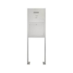 Designer | Edelstahl Standbriefkasten Designer Modell BIG ST-P - Clean Edition - INDIVIDUELL | Mailboxes | Briefkasten Manufaktur
